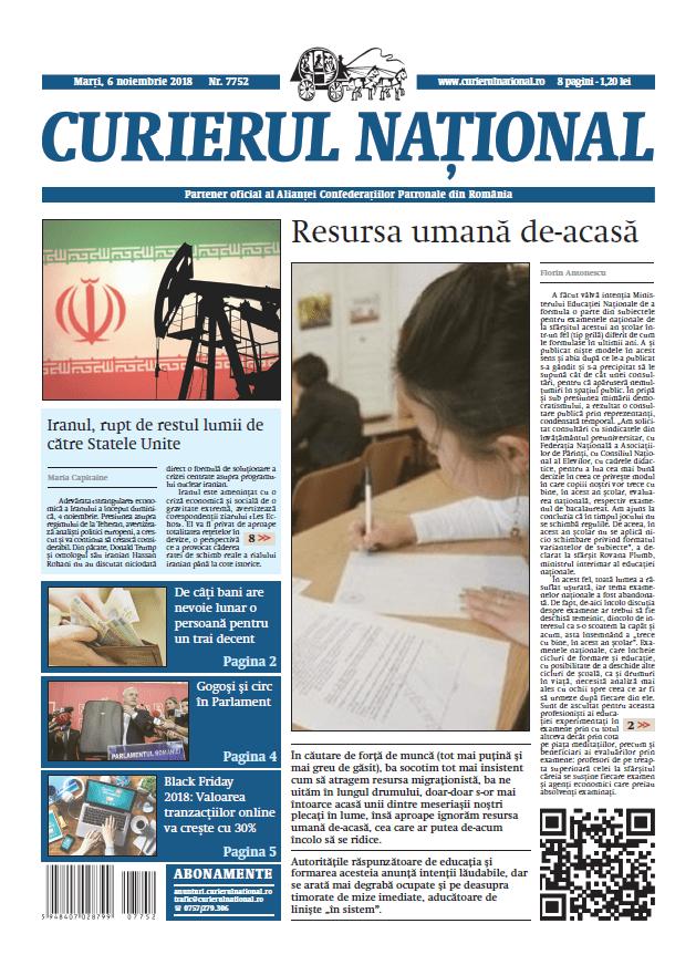 anunturi ziar curierul national 7752