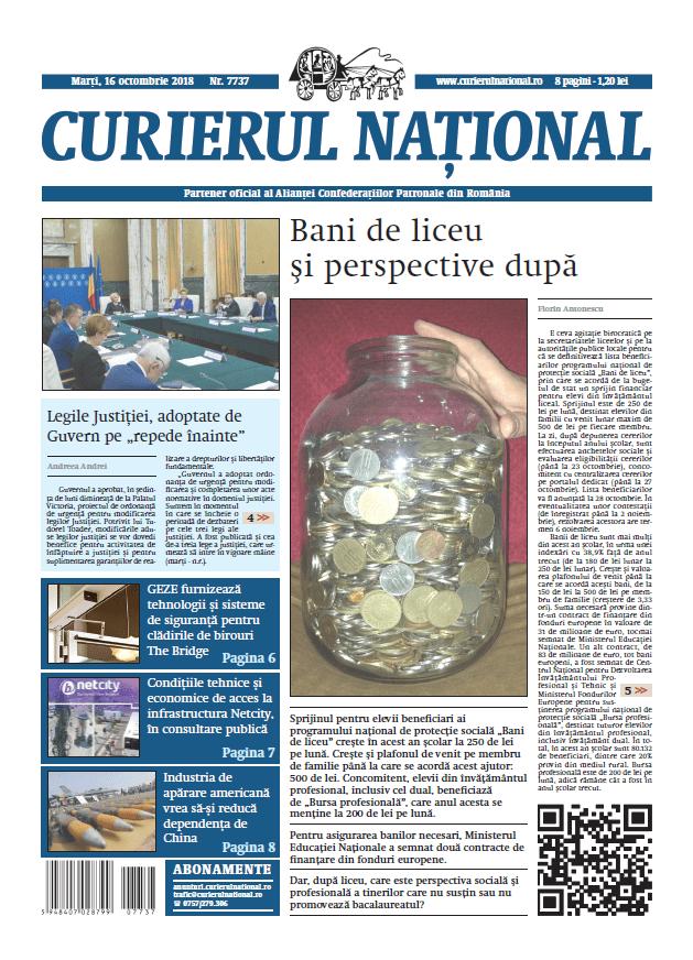 anunturi ziar curierul national 7737