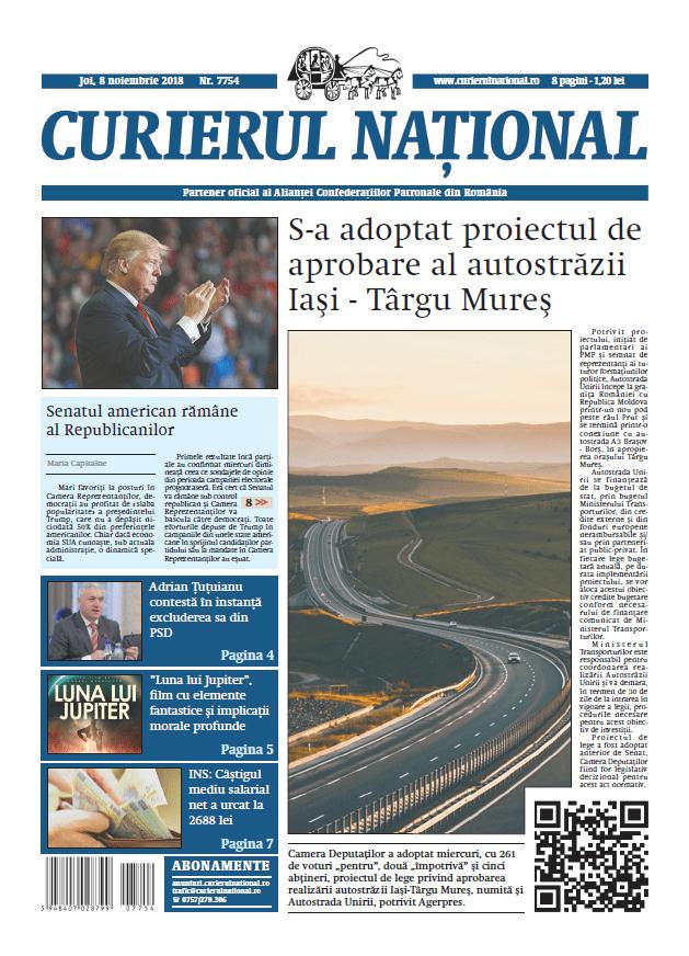anunturi ziar curierul national numarul 7754