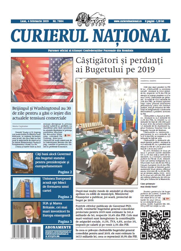 anuntur ziar curierul national 7804