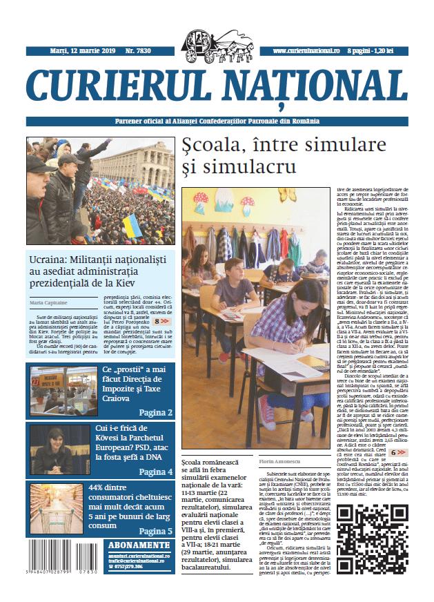 anunturi ziar curierul national 7830