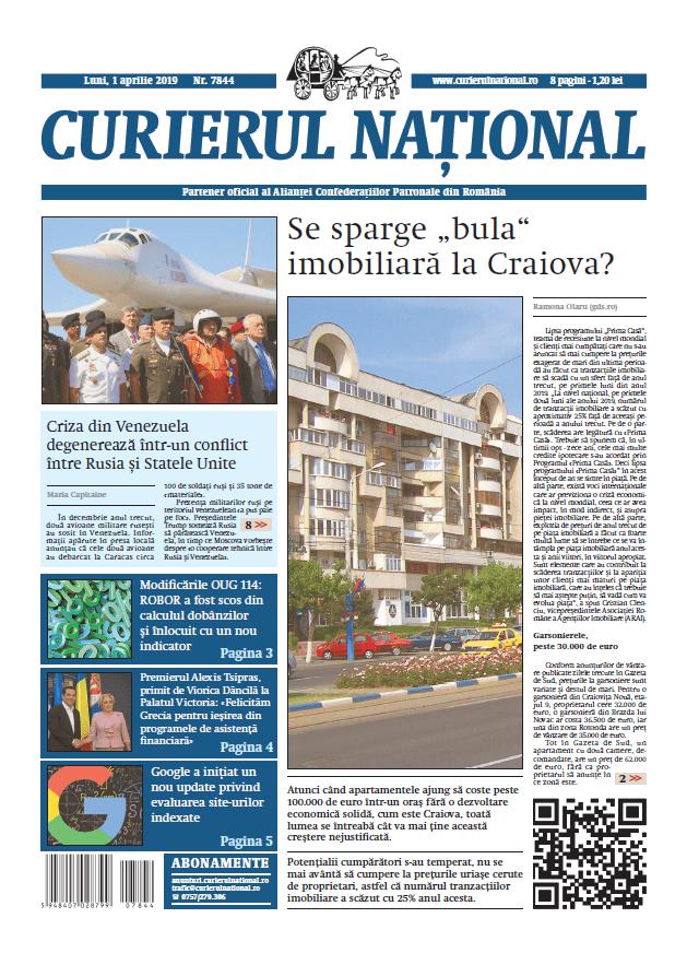 anunturi ziar curierul national 7844