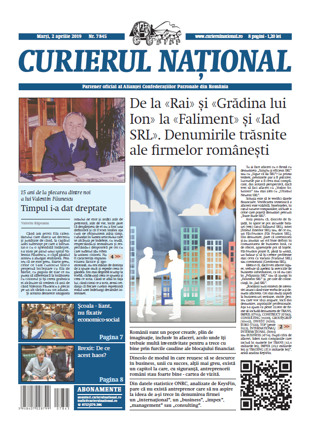 anunturi ziar curierul national 7845