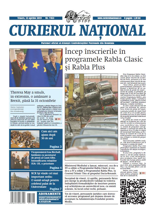 anunturi ziar curierul national 7853