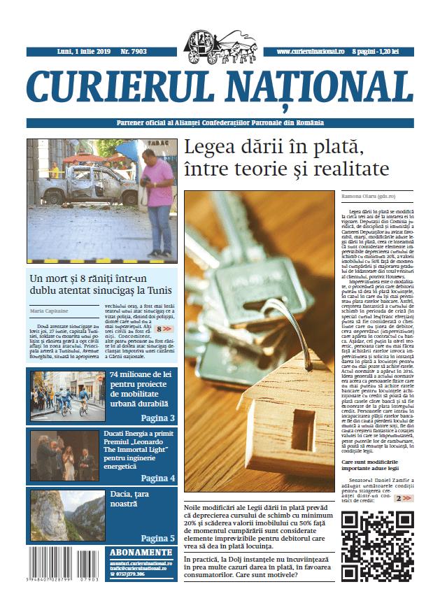 anunturi ziar curierul national 7903