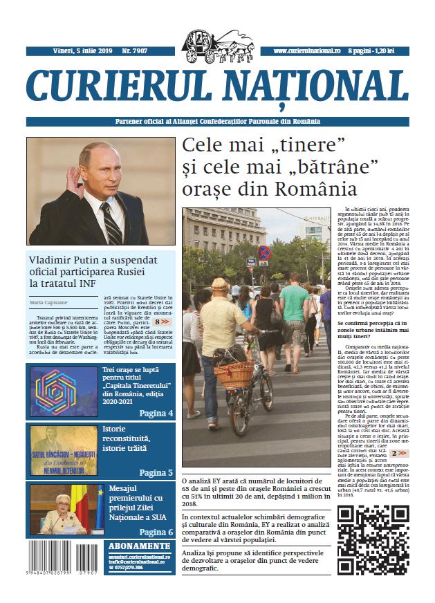 anunturi ziar curierul national 7907