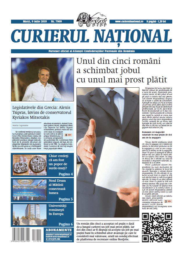 anunturi ziar curierul national 7909