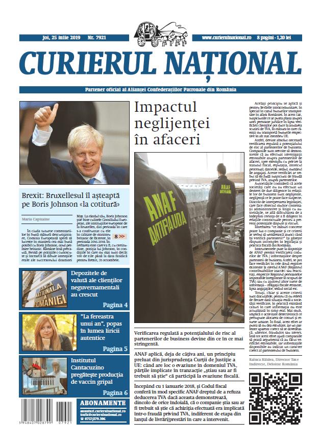 anunturi ziar curierul national 7921